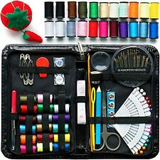 Evergreen Art Supply Sewing Kit Includes 40 Spools of Thread, All You Need, &