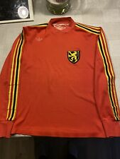 Matchworn Shirt 1980 Belgium