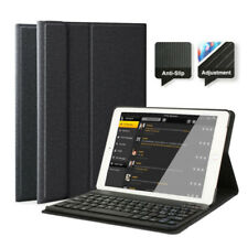 """AU For iPad 6th Gen 2018/5th 2017 9.7"""" Bluetooth Keyboard with Stand Case Cover"""