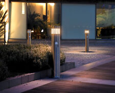 Motion Sensor LED Bollard Garden Lamp Post Stainless Steel Outdoor PIR Ground