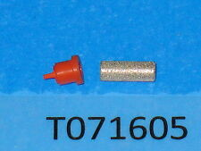 1ea OEM HOMELITE 69659B sintered fitting connector & 69451 duck bill check valve