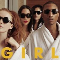 "PHARRELL WILLIAMS ""G I R L"" CD 10 TRACKS MIT HAPPY NEW+++++++++++"
