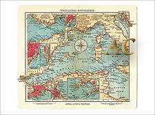 #11270 Seekarte Westliches Mittelmeer Italien Frankreich Marine Mallorca Karte