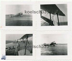 4 Fotos Luftkampfschule I Dresden Leutewitz He 46 Ar 68 Flugzeuge Luftwaffe ´41
