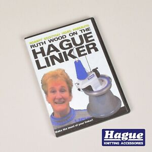 The Hague Linker Machine Ruth Wood Tuition DVD Hague Knitting Accessories (D009)