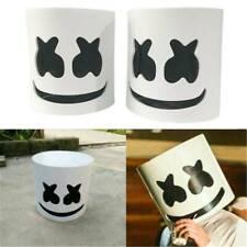 1X MarshMello DJ Mask Full Head Helmet Halloween Cosplay Bar Music Props
