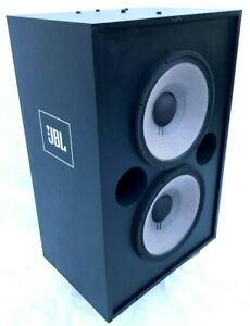 """Cinema Movie Theatre 4648-A JBL Dual 15"""" Low Frequency Loudspeaker System 8 Ohm"""