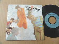 "DISQUE 45T DE  SET THE TONE  "" RAP YOUR LOVE """