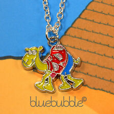 FUNKY CARTOON CAMEL NECKLACE FUN KITSCH NOVELTY GIFT COOL EGYPTIAN DESERT ANIMAL