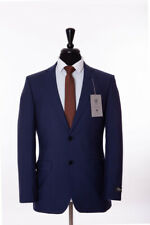 Men's Alexandre London Airforce Blue Tailored Fit Suit 46R W40 L32