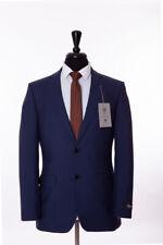 Men's Alexandre London Airforce Blue Tailored Fit Suit 40S W34 L29