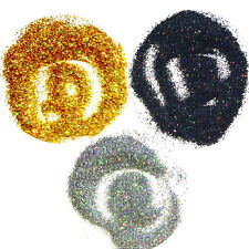 3 Bags Magic Glimmer Nail Body Art Glitter Mermaid Effect Holographic Laser Dust