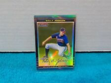 2002 Bowman Chrome Gold Refractor Kelly Johnson #'d 20/50