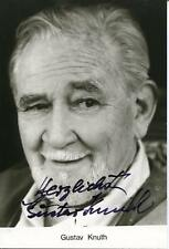 GUSTAV KNUTH GERMAN ACTOR IN SEXY SUSAN SINS AGAIN SIGNED PHOTO AUTOGRAPH