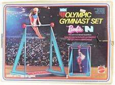 VTG 70s BARBIE & P.J. OLYMPIC GYMNAST SET In ORIGINAL BOX By Mattel Games 1974