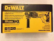 "New Dewalt DCH133B 20 Volt 20V Max XR Brushless 1"" SDS Plus Rotary Hammer NIB"