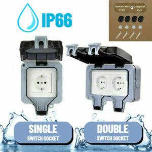 250V 16A Outdoor socket IP66 waterproof and dustproof wall-mounted socket box