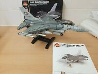 Lego brickmania F-16 Fighting Falcon with loadout pack