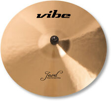 "18"" Vibe Jewel Traditional Medium Thin Crash Becken Cymbal B20 mit Zertifikat"