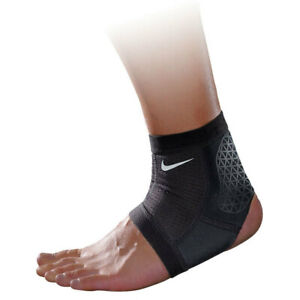 Nike Pro Combat Ankle Sleeve Foot Heel Support Gym Training Sports Wrap XL Black