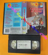 VHS film I MUSICANTI DI BREMA Le fiabe del nonno animazione FN 005 (F137) no dvd