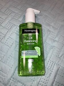 NEUTROGENA~~OIL BALANCING~~FOR OILY SKIN~~LIME & ALOE VERA~~FACIAL WASH 6.76 oz