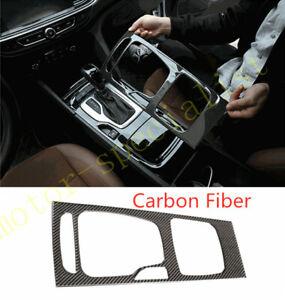 Carbon Fiber Interior Gear Shift Panel Cover Frame For Buick Regal 2018-2020