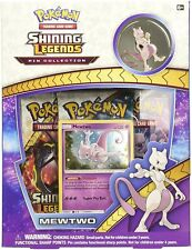 Pokemon Shining Legends Mewtwo Collectible Cards