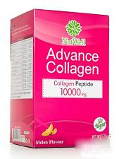 6X NatWell advance Collagen Fruit C+ Plu Kaow 10 Sachets Supplement Melon Drink