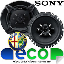 Alfa Romeo 147 00-14 SONY 6.5 Inch 17cm 540 Watts 3 Way Front Door Car Speakers