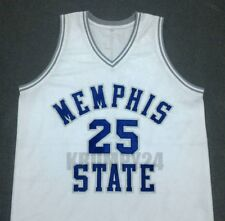 Penny Hardaway Memphis State White Basketball Jersey Gift Any Size