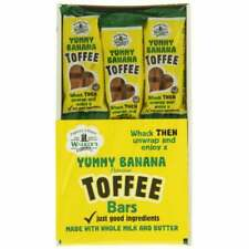 Walkers Nonsuch HANDY PACK Yummy Banana Toffee Bars Traditional 24 x 50g
