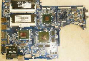 Dell XPS 15z (L511z) Intel i7-2640M nVidia GT 525m Laptop motherboard 01XFF3