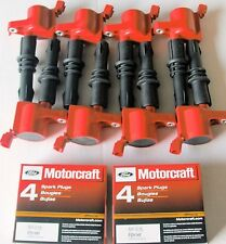 SET OF 8 REPLACEMENT HEAVY DUTY IGNITION COIL DG511R & MOTORCRAFT PLUGS SP515