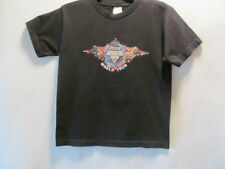 Alstyle Apparel & Activewear Boys monster jam world tour black t-shirt, Medium