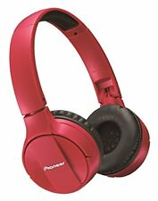 Pioneer on Ear Headphones SE-MJ553BT-R Red