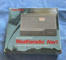 Radio Shack Weatheradio Alert 12-240 with Original Box & Owner Manual