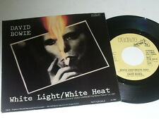 David Bowie Promo 45 With Picture Sleeve White Light / White Heat Ziggy Stardust