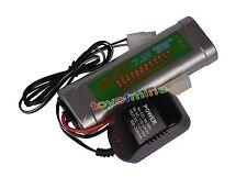 1 pcs 7.2V 6800mAh Ni-Mh rechargeable battery pack RC Tamiya Plug + Charger USA