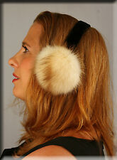 New Fitch Fur Ear Muffs - Efurs4less