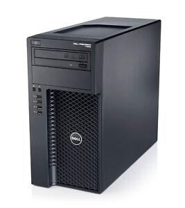 Dell Precision T1650 Workstation PC CPU Intel Xeon 3,2GHz 32GB RAM 512GB SSD
