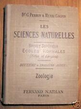 SCIENCES NATURELLES - ZOOLOGIE - Nathan - EO 1934