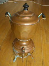 Antique1906 Meteor Copper Coffee Percolator/Manning & Bowman Co.Made in CT, USA