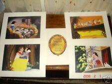 walt disney's lithograph portfolio snow white 7 dwarfs