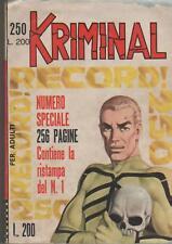 KRIMINAL     #   250   RECORD !