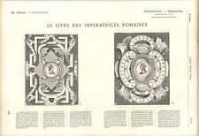1863 libro di empresses ROMA Livia medullina JULIA Drusilla e Vico OPERE D'ARTE