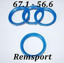 Spigot Rings BSA 67.1 - 56.6 for 4 Stud Vauxhall Astra  Van