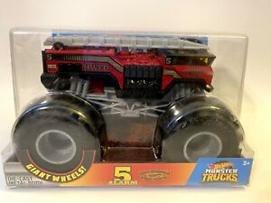 Hot Wheels 5 Alarm Fire Truck 1:24 Scale Monster Truck New
