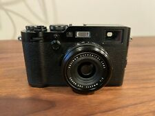 Fujifilm X100f Digital Camera (black) Near Perfect condition - Only 1600 Shots
