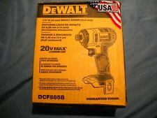 "NEW DEWALT DCF885B 1/4"" INCH DRIVE IMPACT DRIVER TOOL ONLY 20V MAX LITHIUM ION"